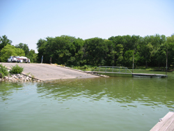 Lynn Creek Marina Boat Ramp